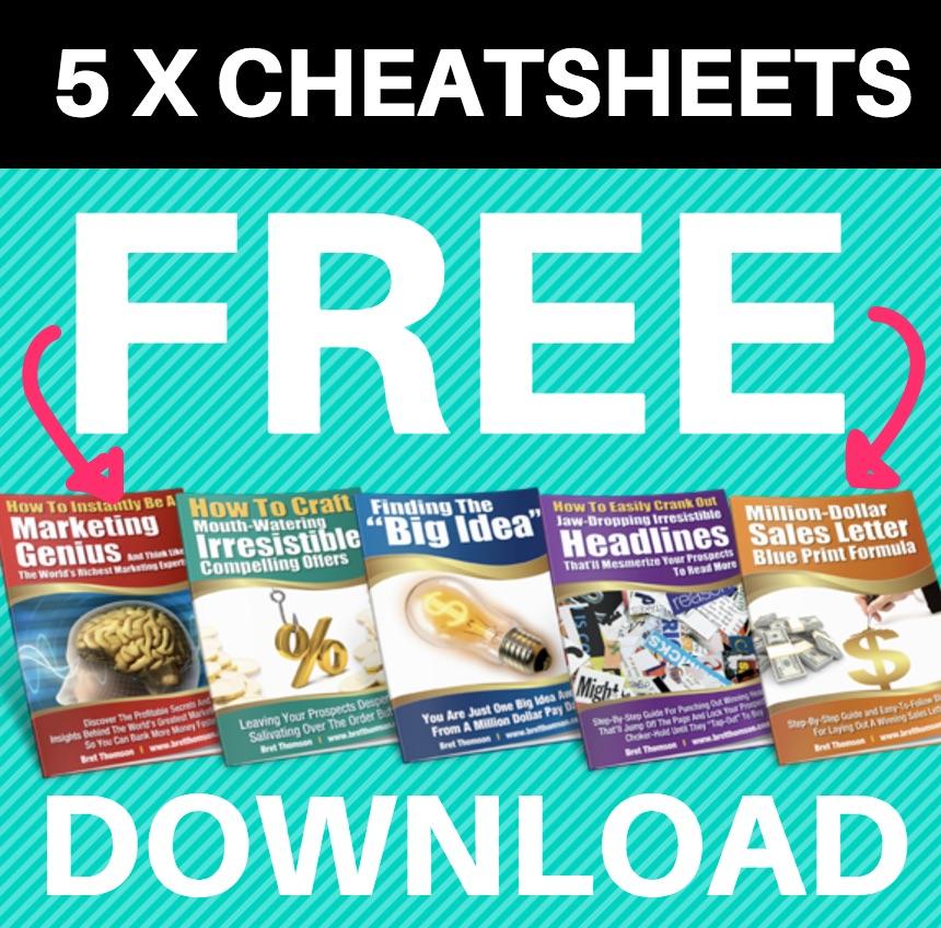 5 Free Cheatsheets